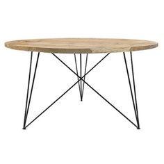 Runder Eichen Stahl Tisch Esstisch Massiv Eiche Runder Esstisch Eiche Runder Esstisch