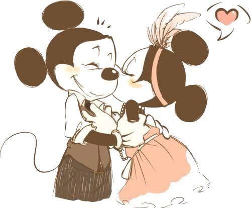 Imagenes Con Dibujos Animados De Amor Y Amistad Jpg 500 414 Disney Quotes Mickey Disney Love