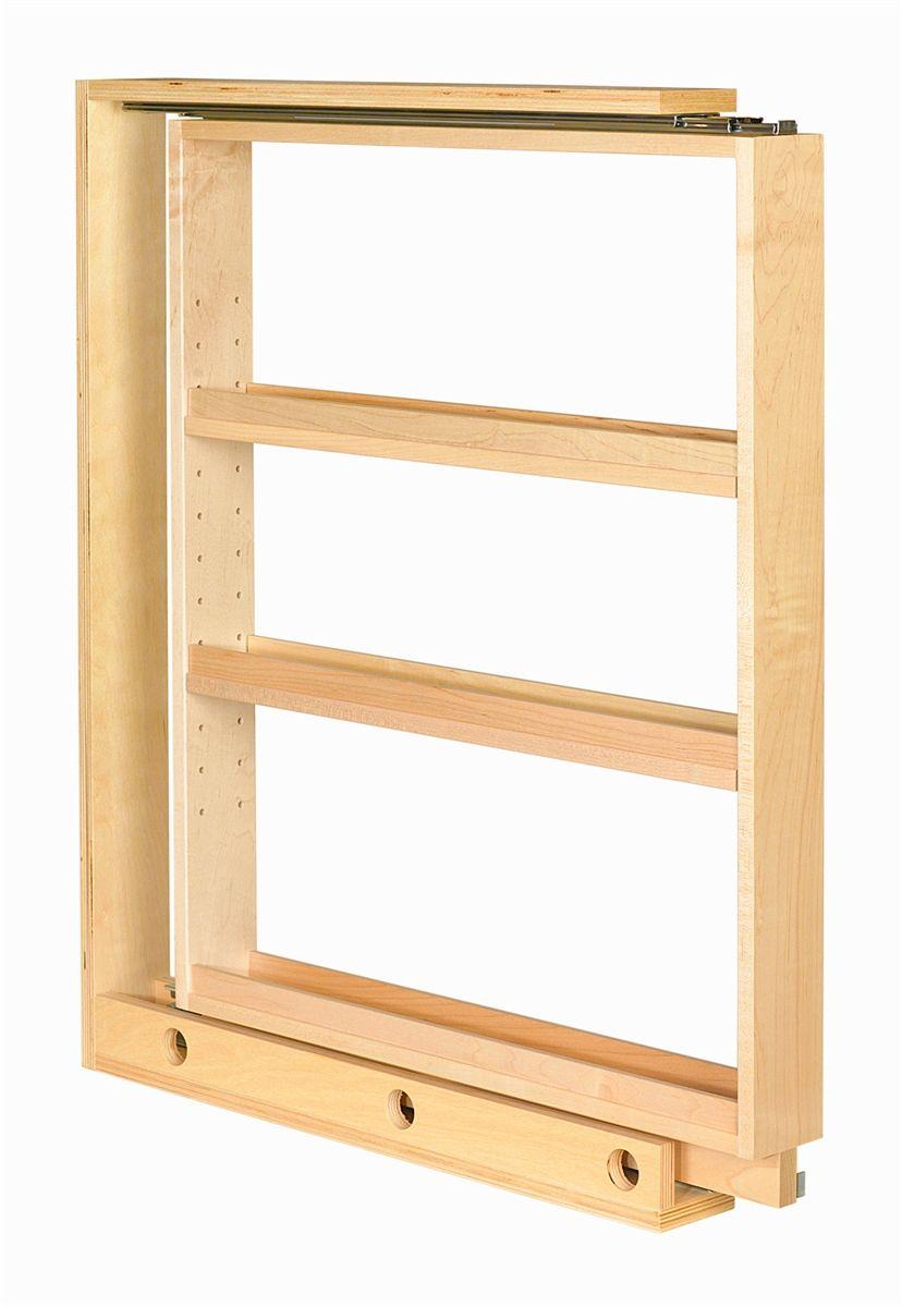 Century Components 3 Base Pull Out Filler Remodel Market Adjustable Shelving Door Mounted Spice Rack Storage