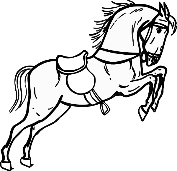 fre clipart horse black and white recherche google clipart rh pinterest co uk  horse clipart black and white png