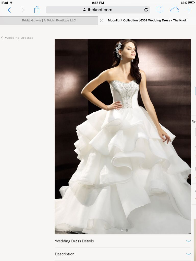 $1000 wedding dress  J moonlight collectiom  wedding ideas  Pinterest