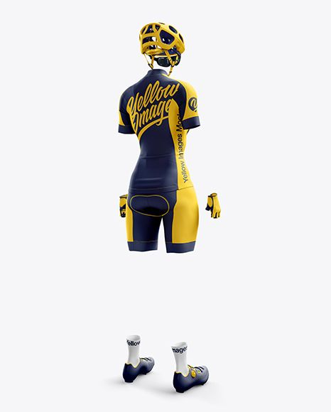Download Women S Full Cycling Kit Mockup Hero Back Shot In Apparel Mockups On Yellow Images Object Mockups Design Mockup Free Cycling Kit Mockup Free Psd
