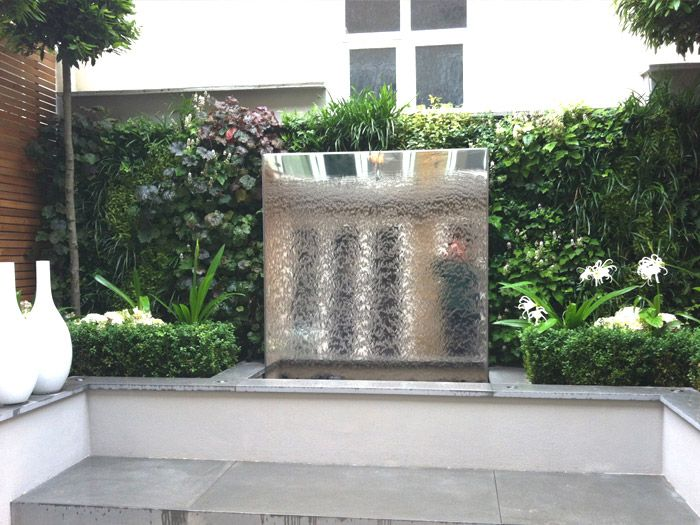 Water Wall Green Living Wall Scotscape Uk Water Features In