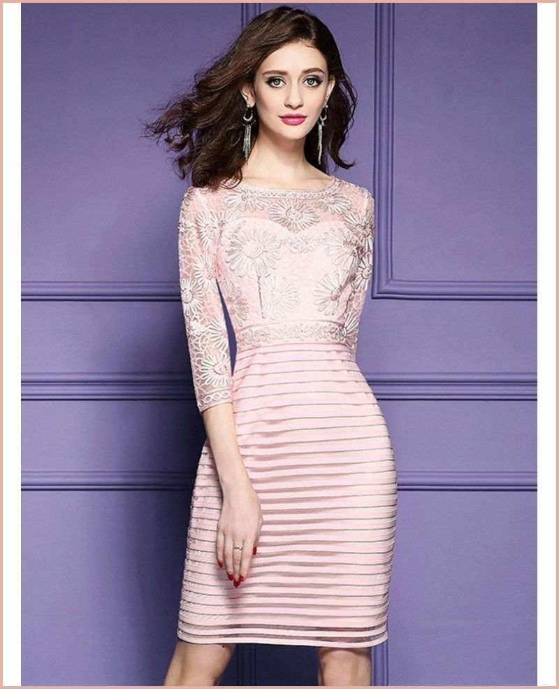 8 Great 8 8 Sleeve Dresses for Wedding Guest for 8