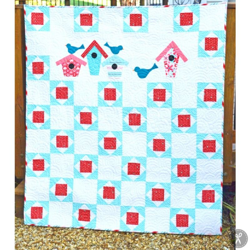 Show Your Row: Square-On-Square Quilt Pattern