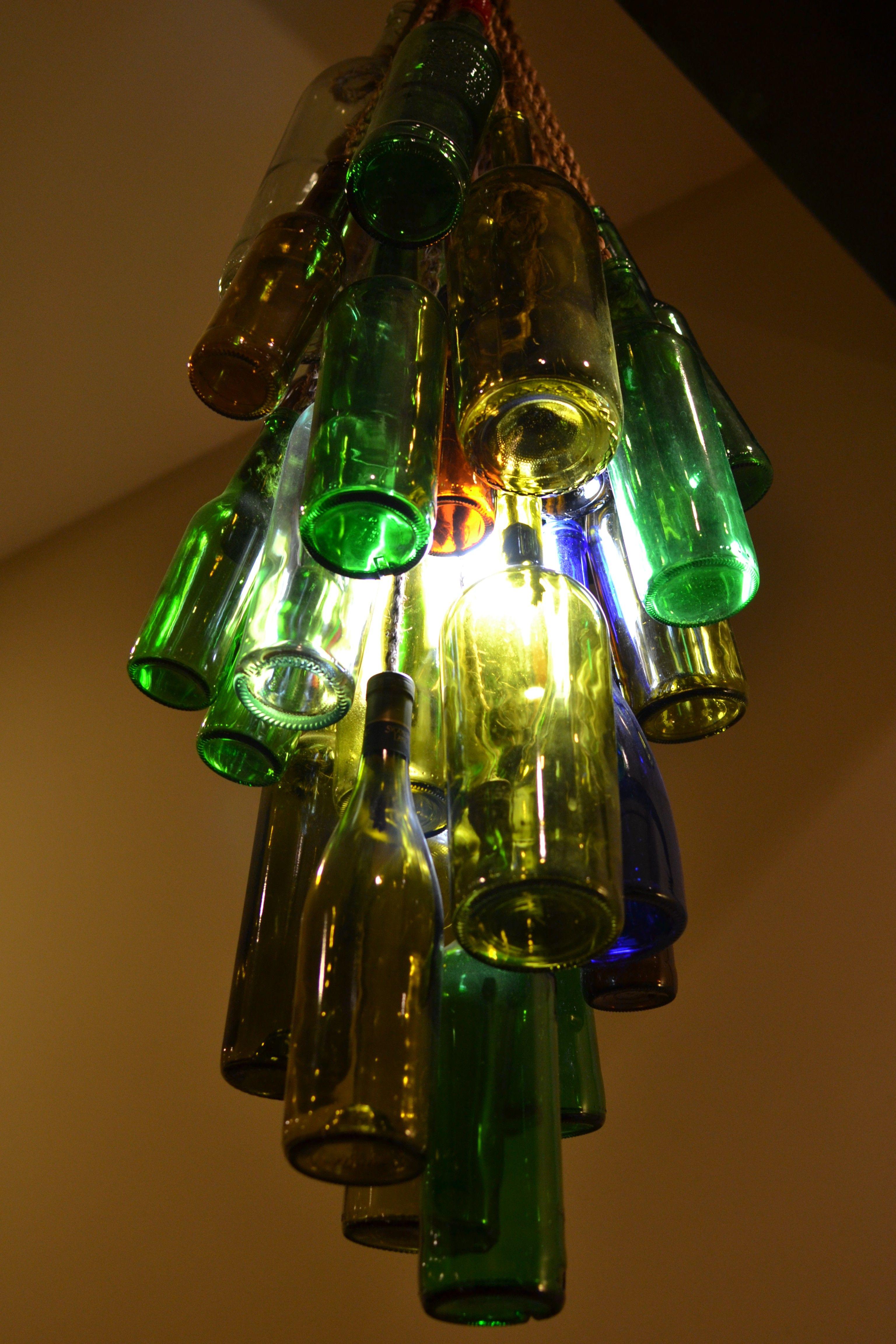 Diy art update bottle chandelier bottle chandelier diy bottle bottle art diy art update bottle chandelier little paths so startled arubaitofo Image collections