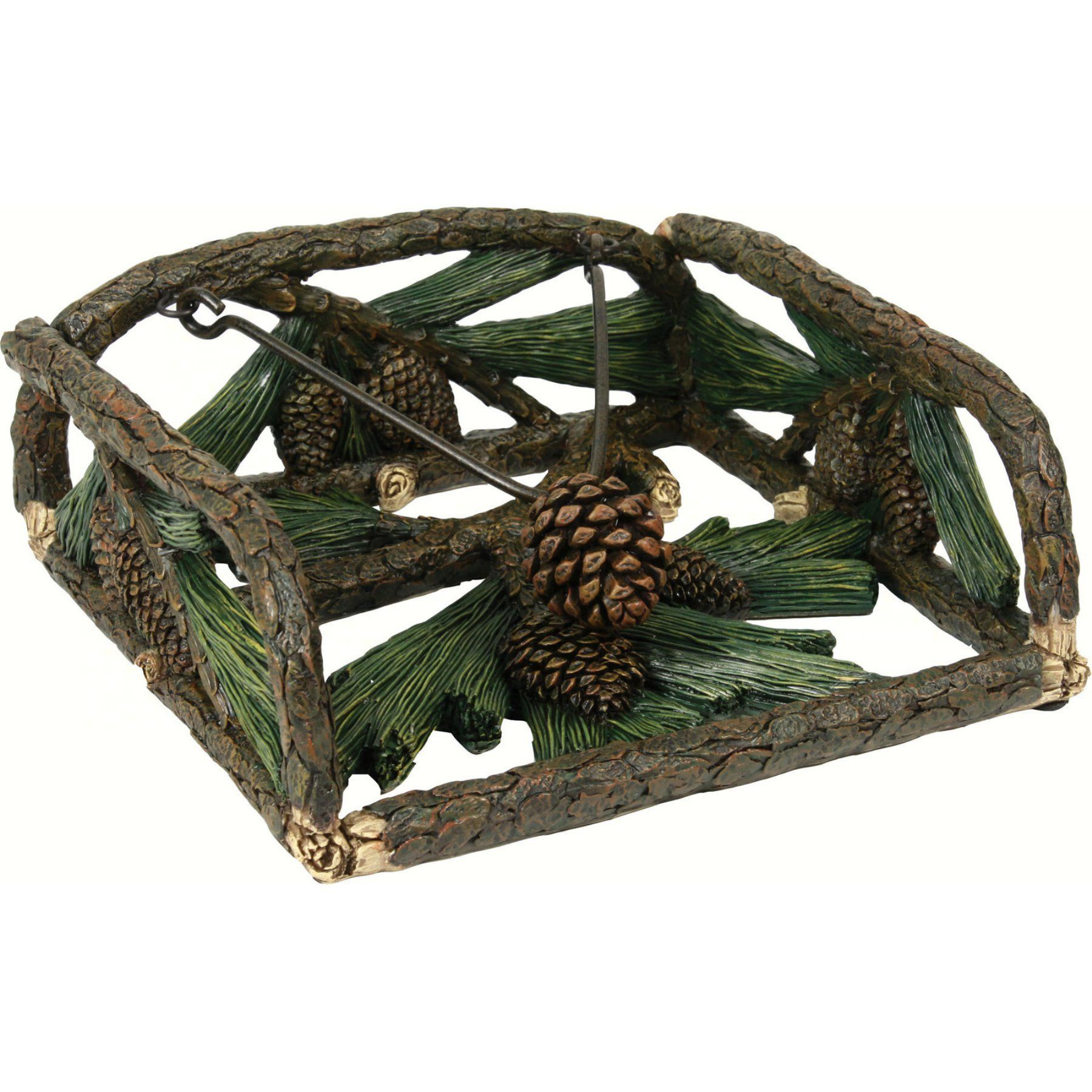Rivers Edge Products Pine Cone Napkin Holder Products In