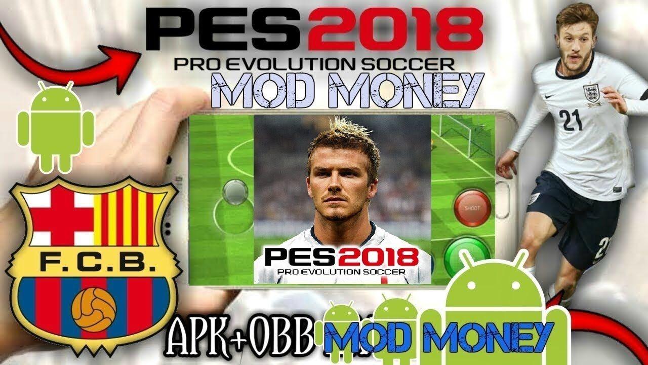 download pes 2018 mobile mod hack