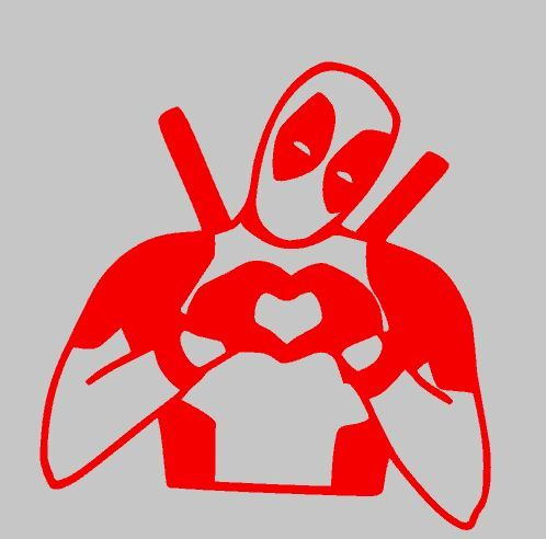 deadpool plotter silhouette vw bus stickers and decals plotten silhouette und. Black Bedroom Furniture Sets. Home Design Ideas