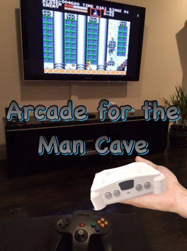 Mini N64 6k Emulator Mame Machine Console Classic Edition Turbografx