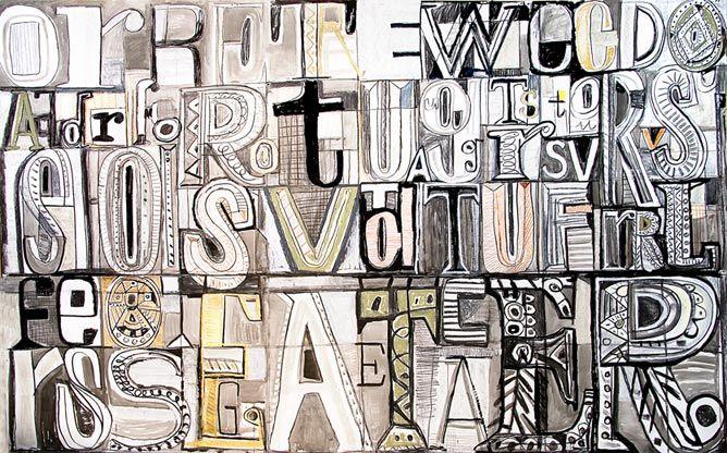 Javier mariscal art class typography pinterest for Mariscal javier