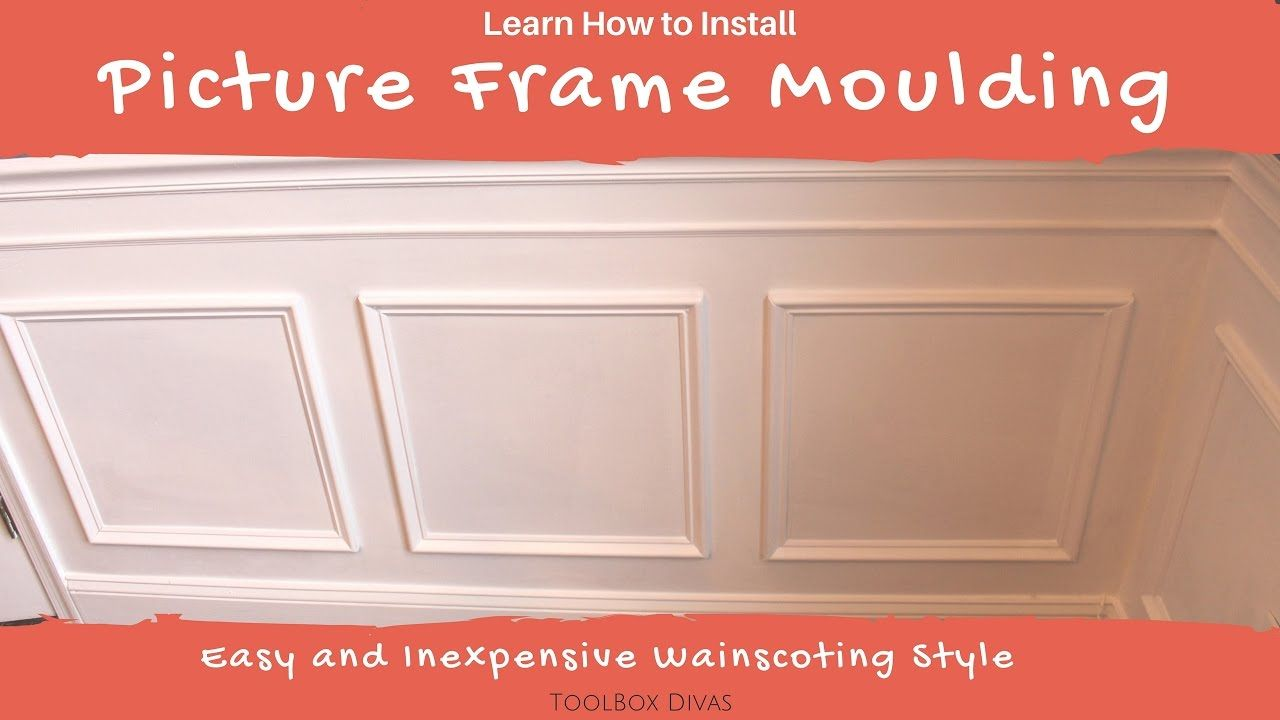 How to Install Picture Frame Moulding. Learn how to update
