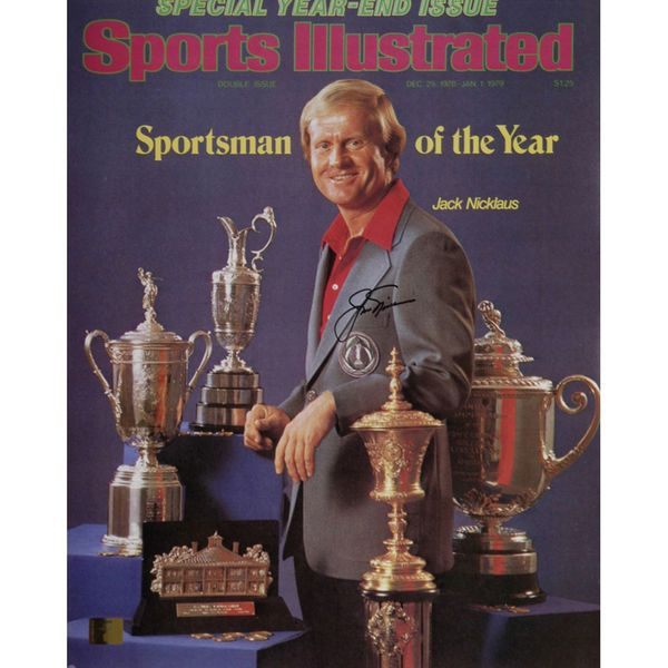"""Jack Nicklaus Fanatics Authentic Autographed 16"""" x 20"""" December 1978 Sports illustrated Photograph - $369.99"""