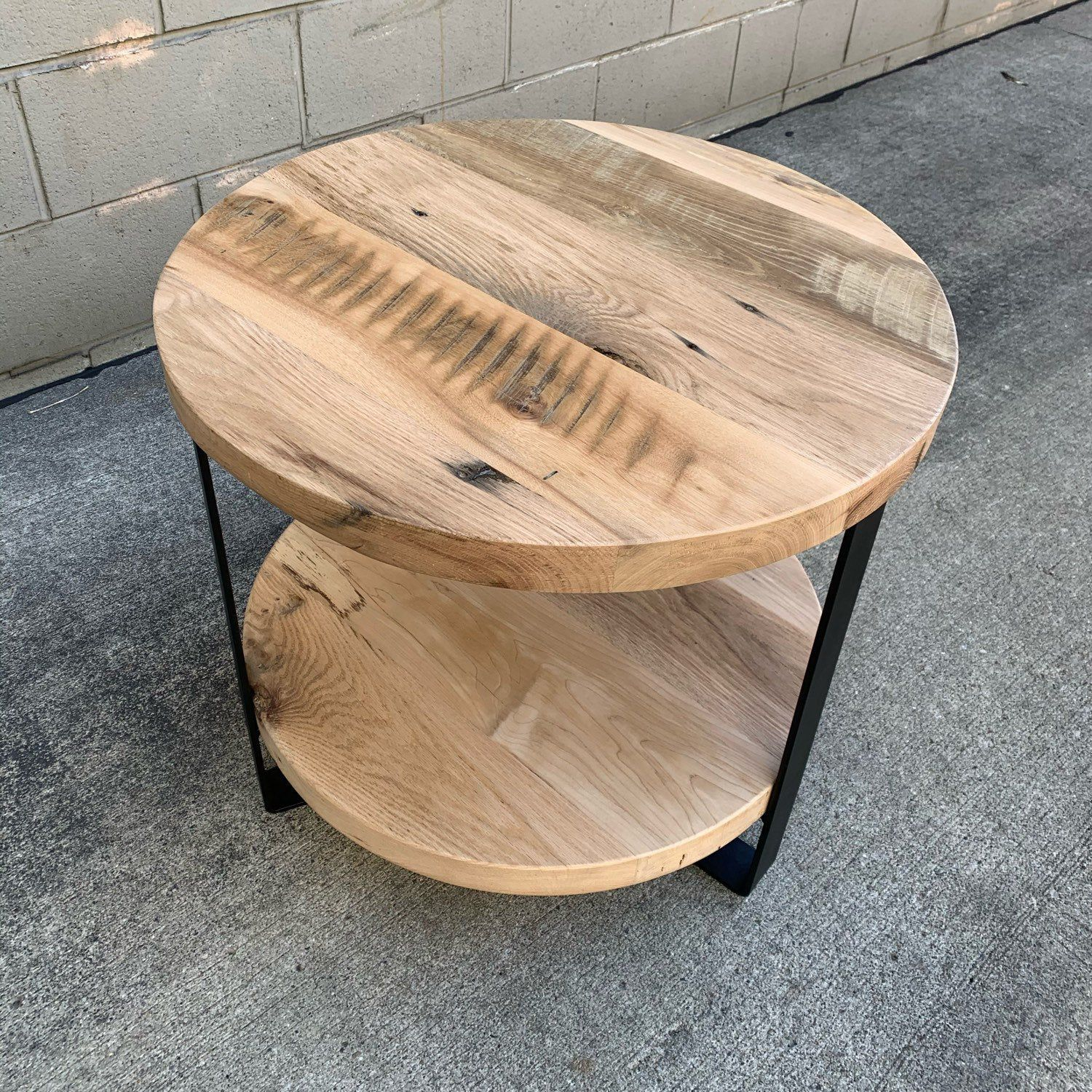 Caseconcepts2000 Shared A New Photo On Etsy In 2020 End Tables Barn Wood Reclaimed Barn Wood [ 1500 x 1500 Pixel ]
