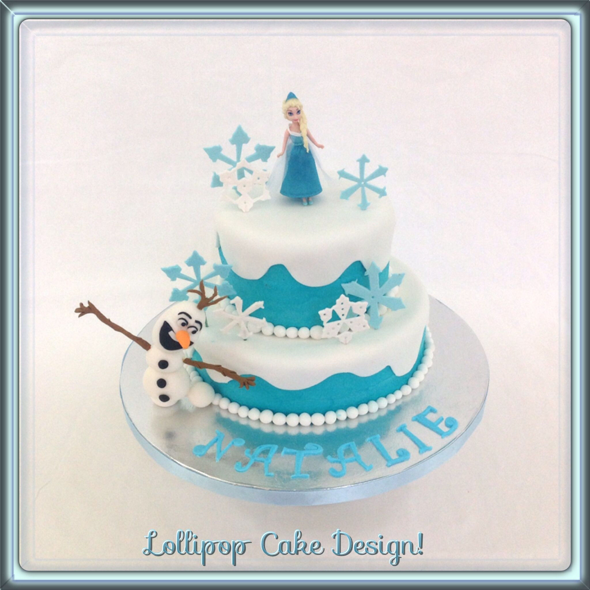 cakes frozen design Google Search Cute Cakes Pinterest