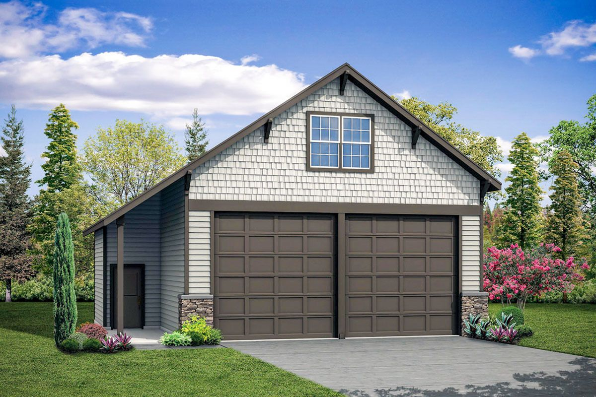 Plan 72950da Craftsman Style Detached Garage With Storage Above In 2021 Craftsman Style House Plans Garage Plans With Loft Detached Garage Designs