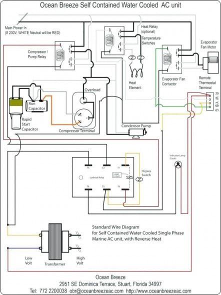Heat Pump Condenser Fan Wiring Diagram