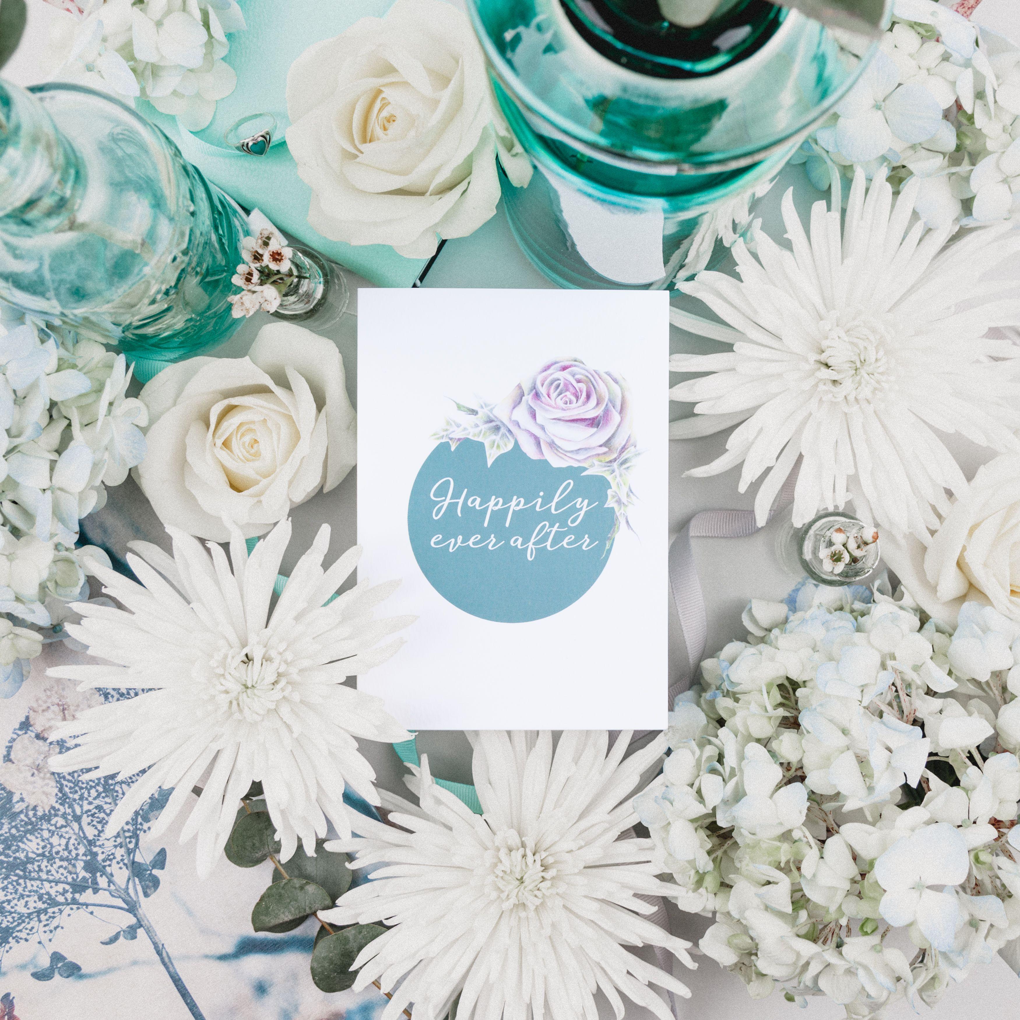 Wedding Bouquet Illustration Service voucher by botanical artist ...