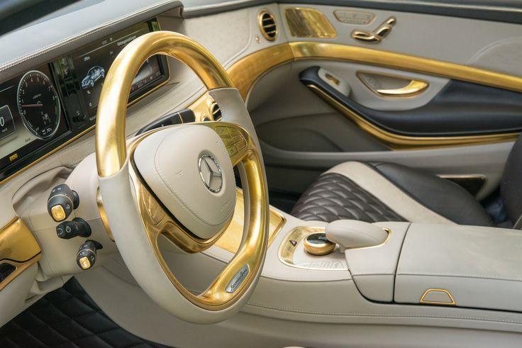 2014 Mercedes Benz Carlsson Cs50 Versailles Gold Interior