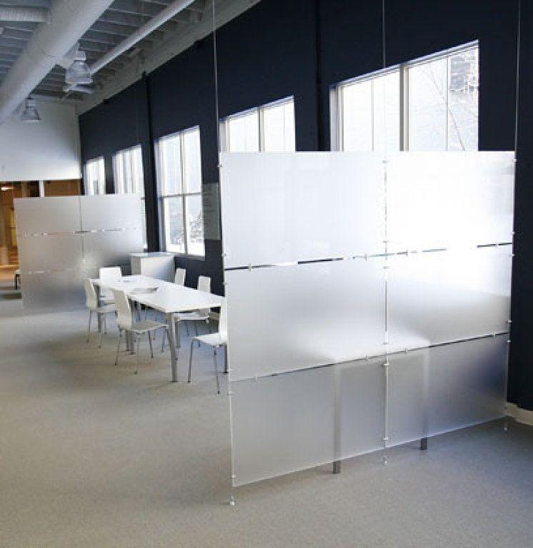 Separador de ambientes lugares que visitar pinterest for Muebles oficina cristal