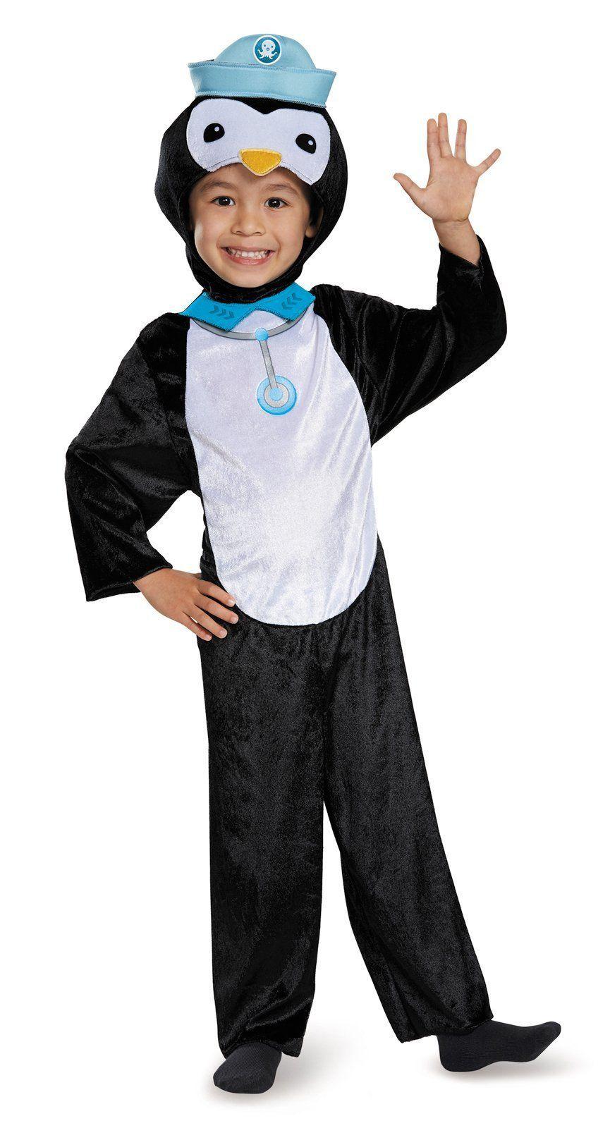 Octonauts Peso Penguin Classic Toddler Costume | kids room ideas ...