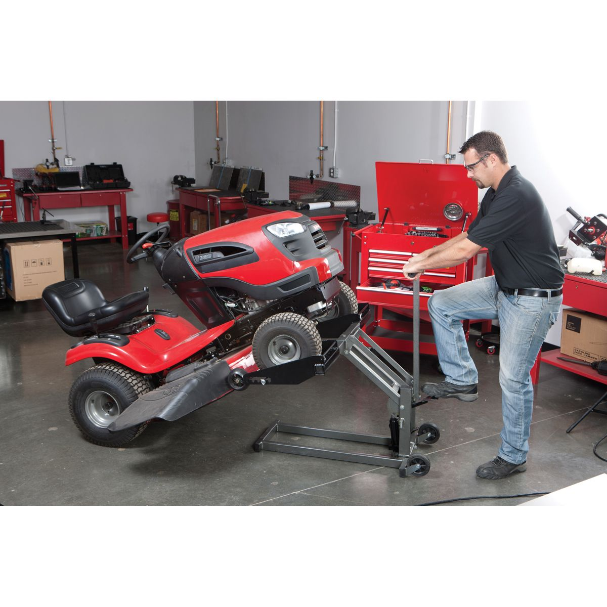300 Lb Atv Lawn Mower Lift In 2019 Riding Lawn Mowers