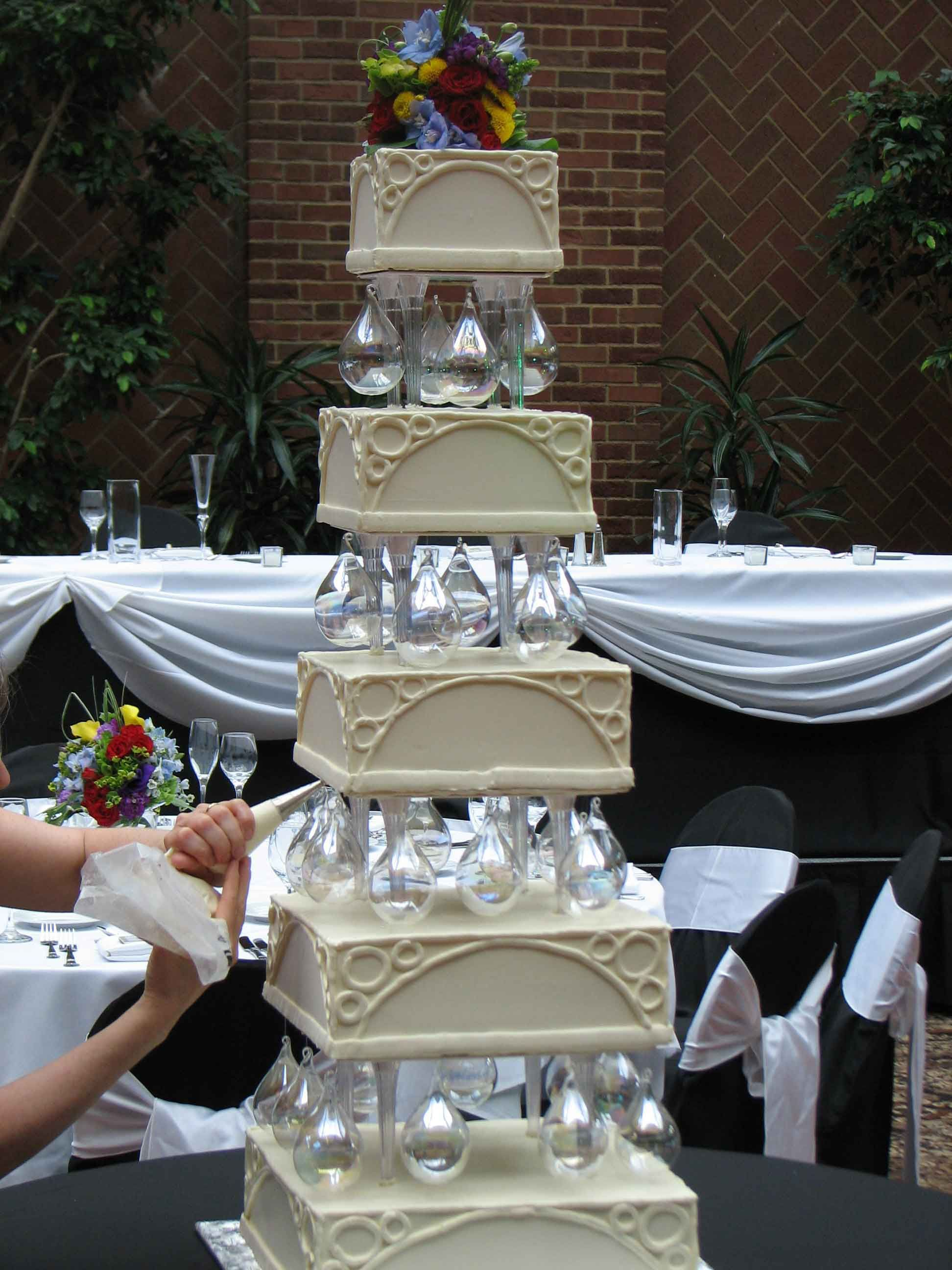 Events at Weber's Hotel wedding venues, Tiered wedding