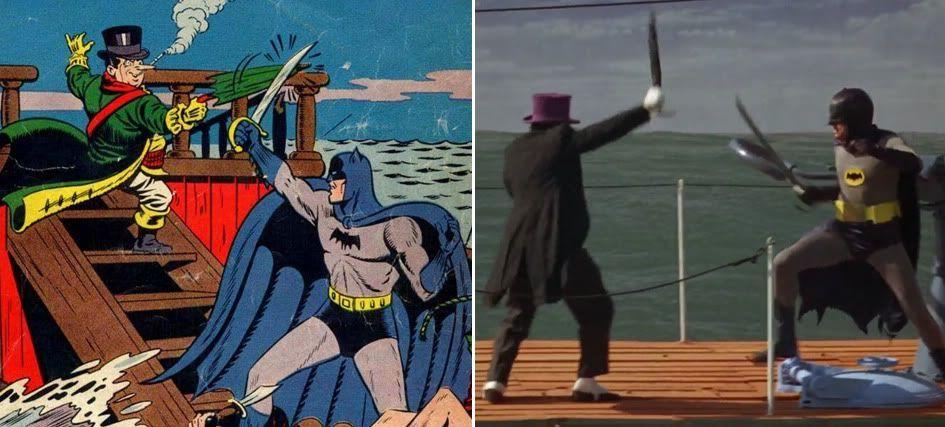 Batman-Online - Comic Influences on Batman: The Movie (1966)