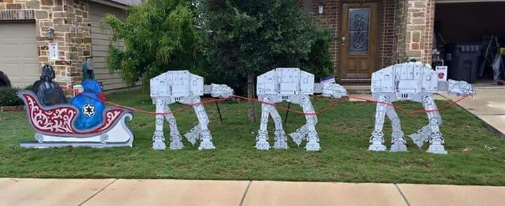 Star Wars Christmas Yard Decorations