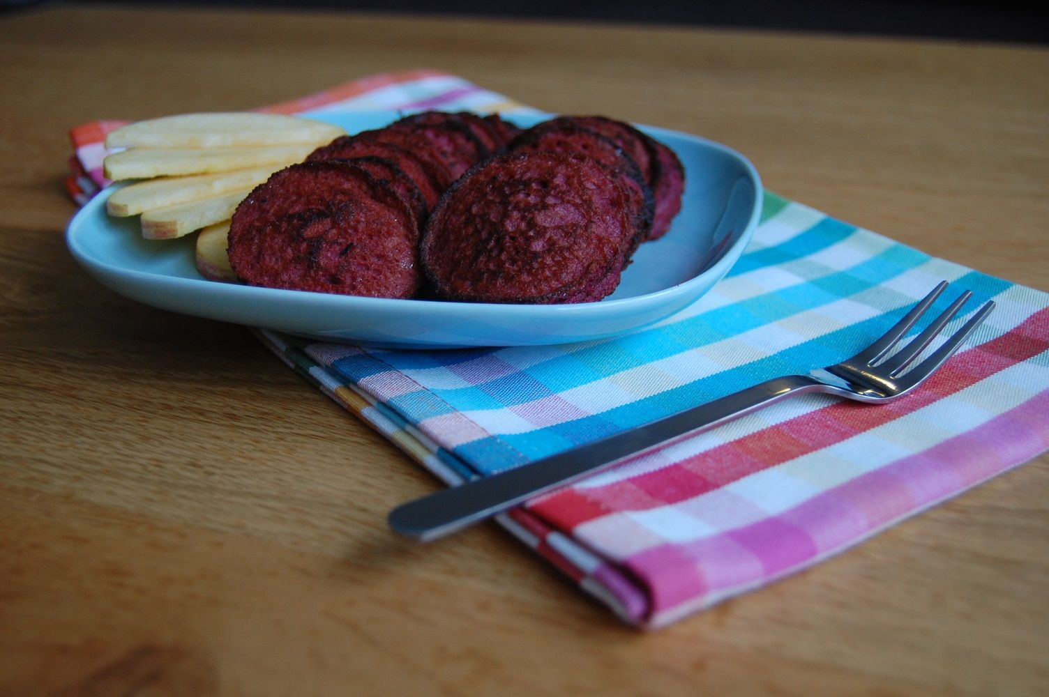 Mini Beet Pancakes-small