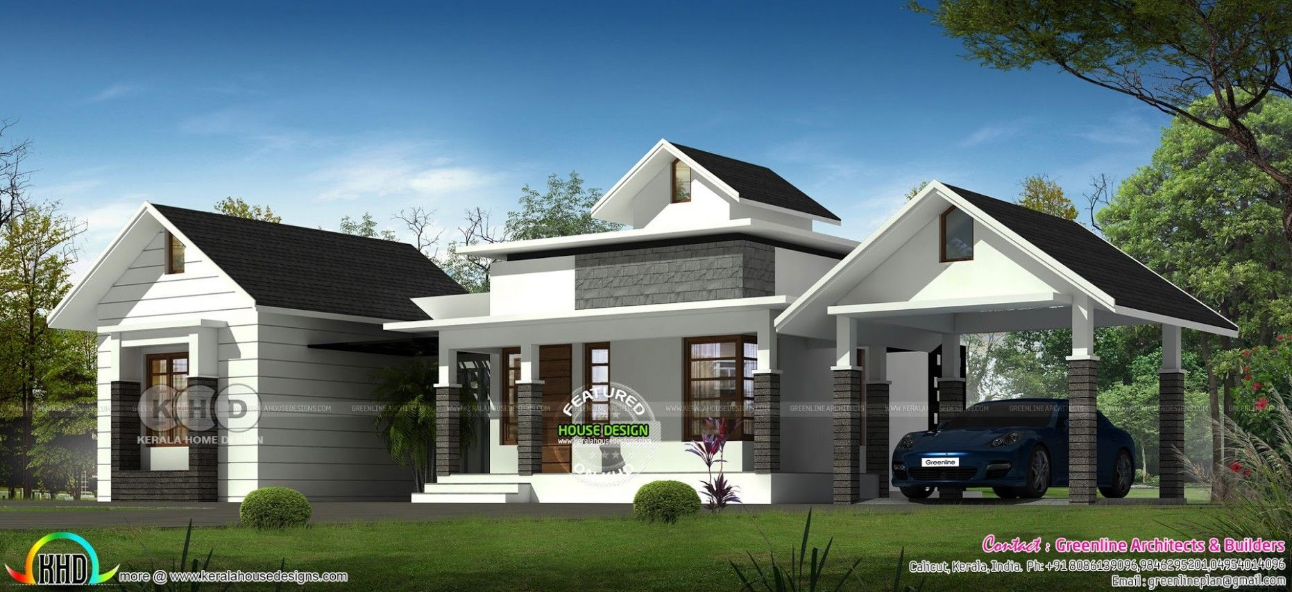 Seven Things You Should Do In One Floor House Roof Design Design Floor House Roof In 2020 House Roof Design Residential Architecture Kerala House Design