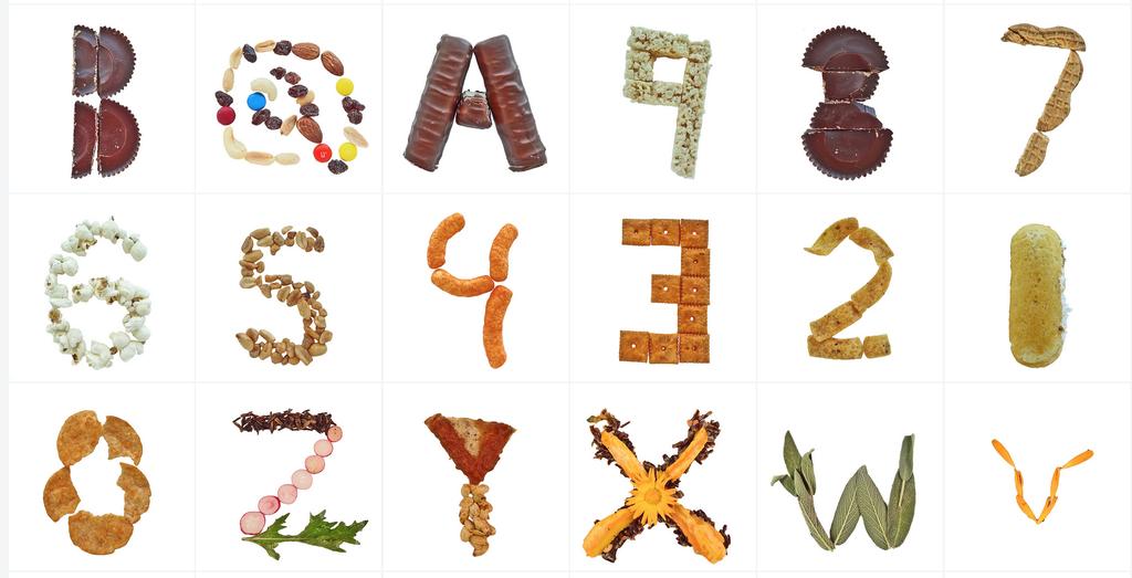 46++ Food alphabets ideas