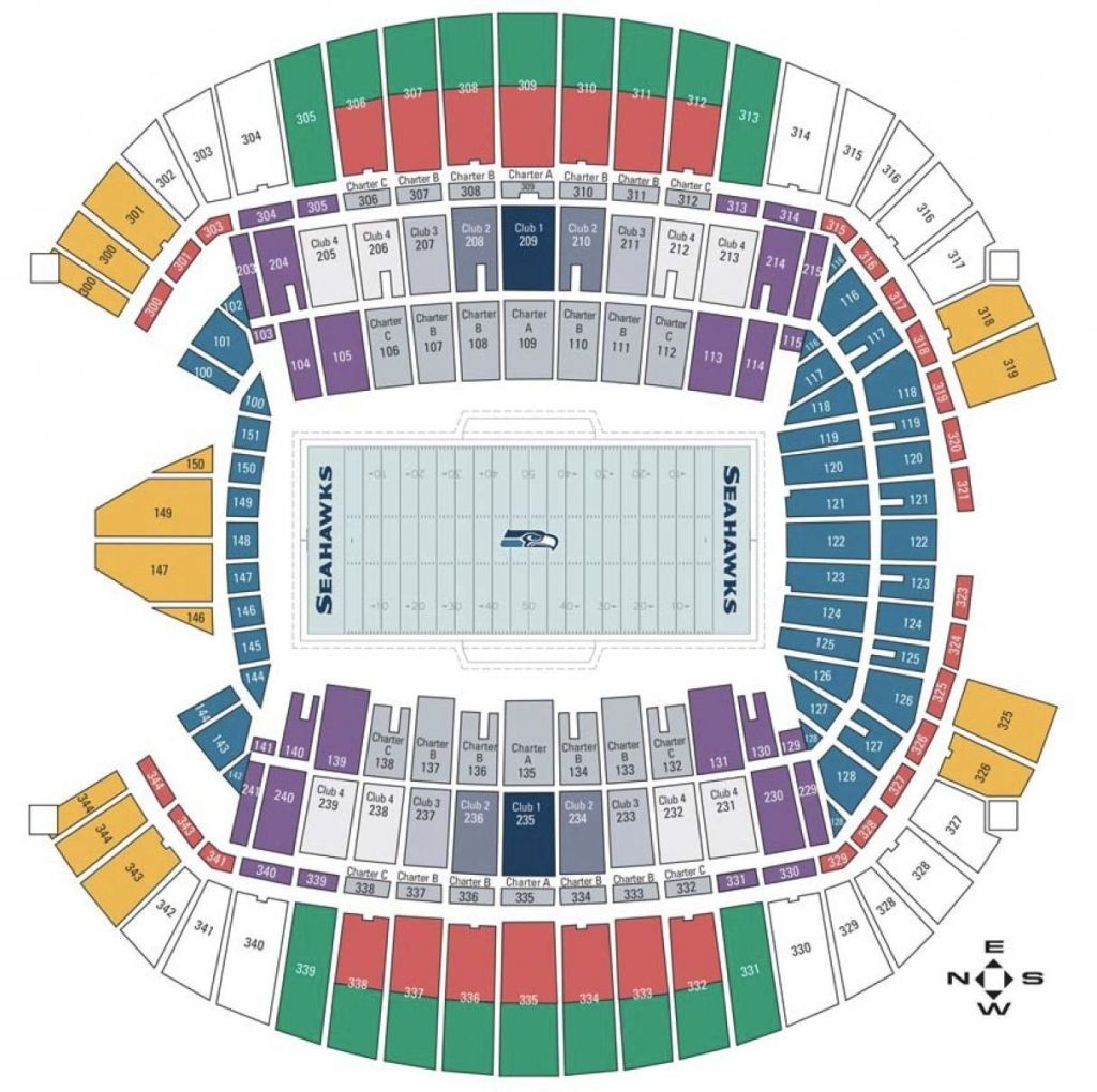 The Amazing Seattle Seahawks Seating Chart