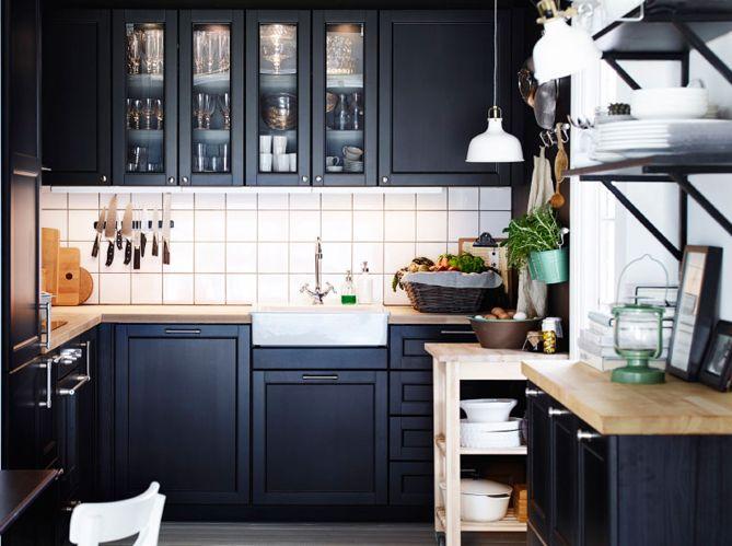 Idées Pour Une Cuisine Ambiance Bistrot Ambiance Cuisines Et Idée - Meuble cuisine pin naturel pour idees de deco de cuisine