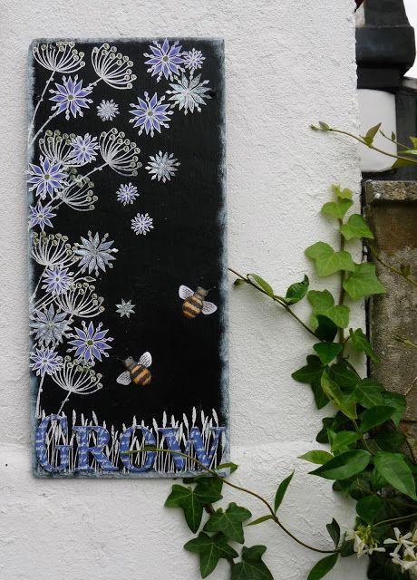 PaperArtsy: 2015 #14 Garden Slate Panel {by Lauren Hatwell}