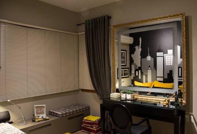 Leandro Selister - Dormitório Temático New York - www.leandroselister.com.br