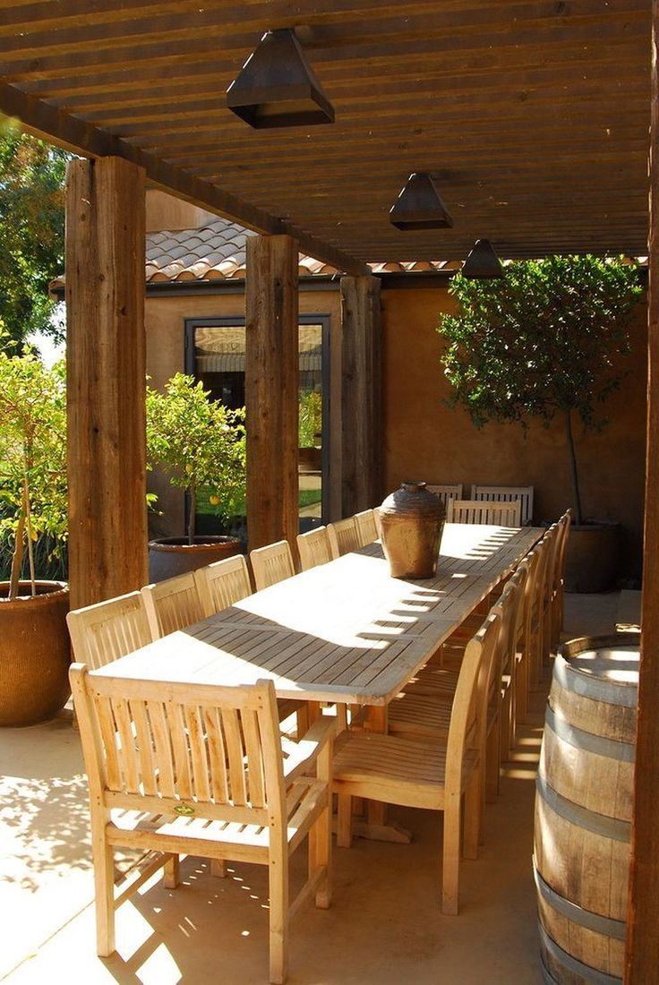 60+ Outdoor Dining Room Ideas (With images) | Dining room ...