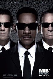 Men in Black 3: In Movie Theaters:	May 25, 2012 in 3,000 theaters.