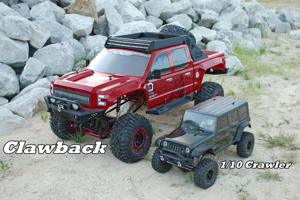 Clawback Crawler Rock Crawler Redcat Racing Rc Trucks