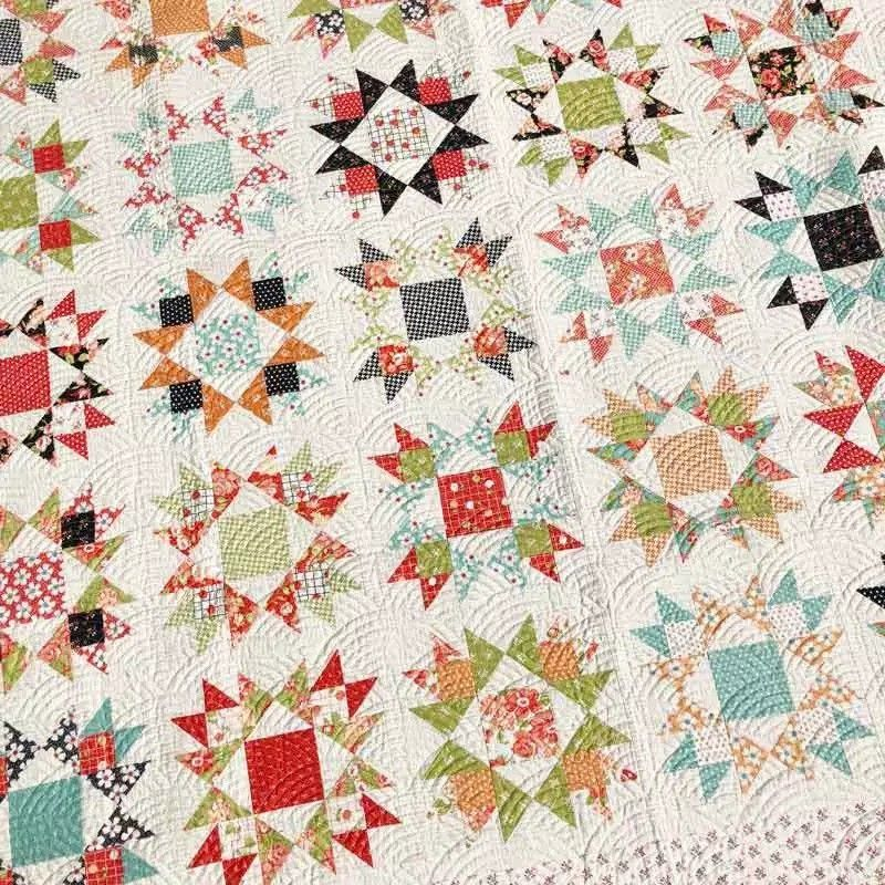 Sweet Treats Quilt Tutorial From Missouri Star Using Cake Mix Recipe 1 By Miss Rosie S Quilt Co Cake Layer Cake Quilt Patterns Layer Cake Quilts Quilt Patterns