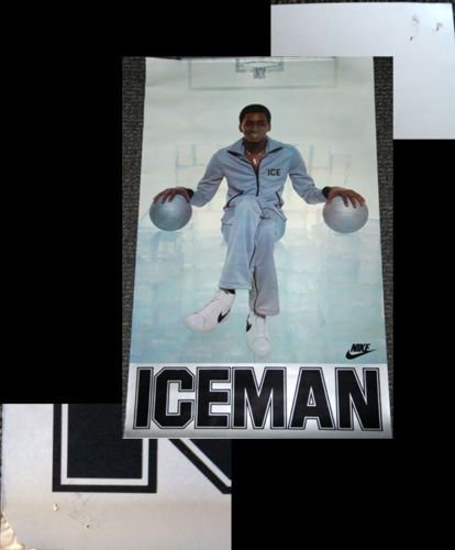 Blazers Portland Posters: Rare Portland Trail Blazers UH OH 1990 Nike Poster Clyde