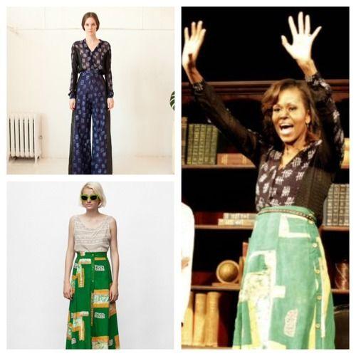 First Lady Michelle Obama's African Fashion Okayafrica.