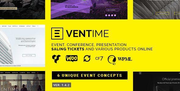 Download Eventime v1.4.2 - Conference, Event, Fest, Ticket Store ...