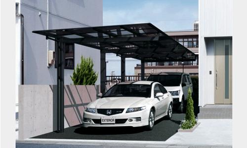 10 Model Teras Rumah Masa Kini Modern Paling Popular Desain Garasi Rumah Tiang Minimalis