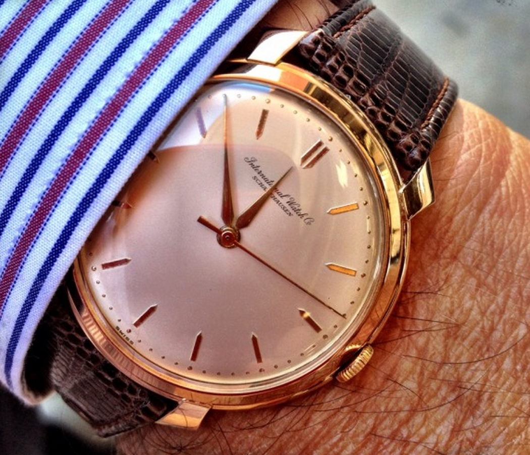 b61bc0e89 Superb Vintage IWC Calibre 89 In 18K Solid Gold Circa 1950s | The ...