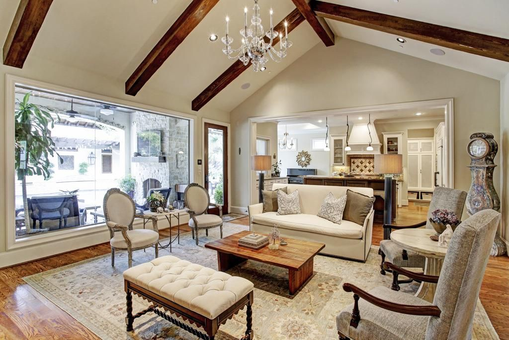 8827 CARDWELL Alternate view of the living room shows open to the