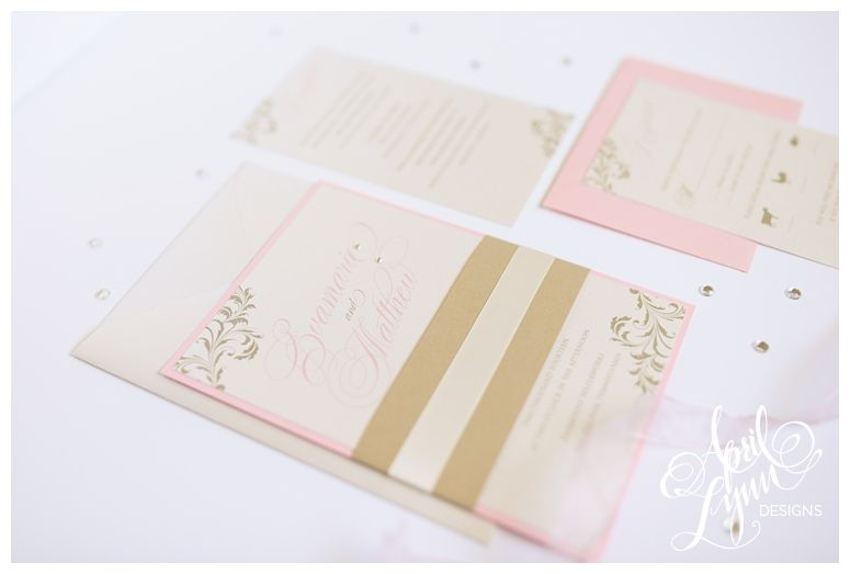 blush and gold stationery - Google Search
