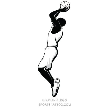 Basketball Player Shooting A Jump Shot Sportsartzoo Basketball Players Best Basketball Shoes Basketball Information