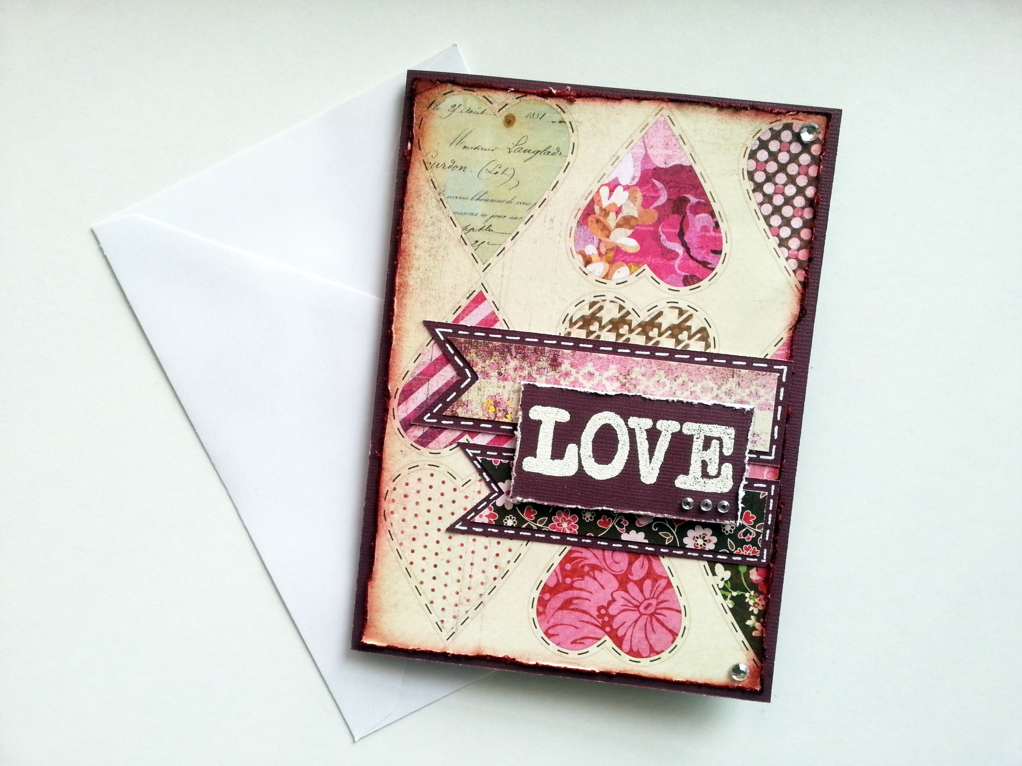 Card Made With Love Card Making Cards Book Cover