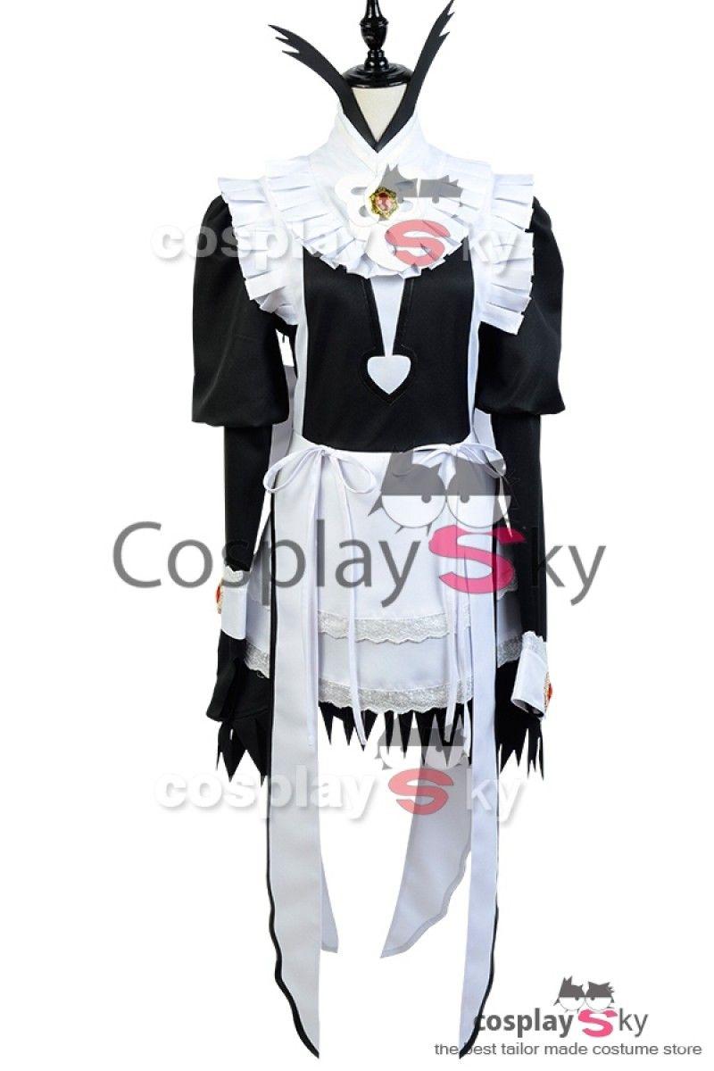 Fire Emblem Fates If Flora Sirvienta Vestido Copslay Disfraz_1 #cosplaysky